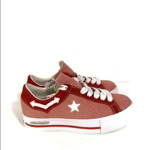 Rare Converse x Mademe One Star Platform OX Pink
